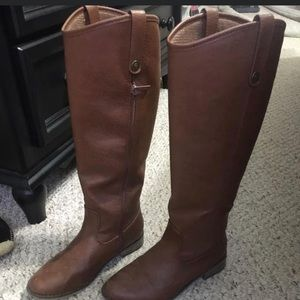 Brown boots from Target